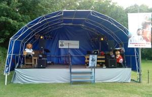 Bühnenbeschallung in Porz Grengel